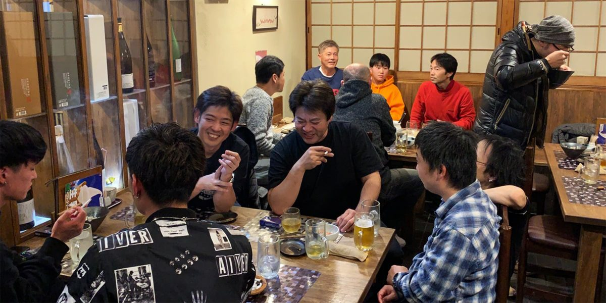 2019年 旬菜旬魚いえもんや 忘年会 山階獅子組