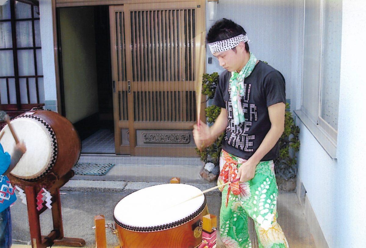 2011年 多度津町山階 秋祭り 村遣い 上小原獅子組
