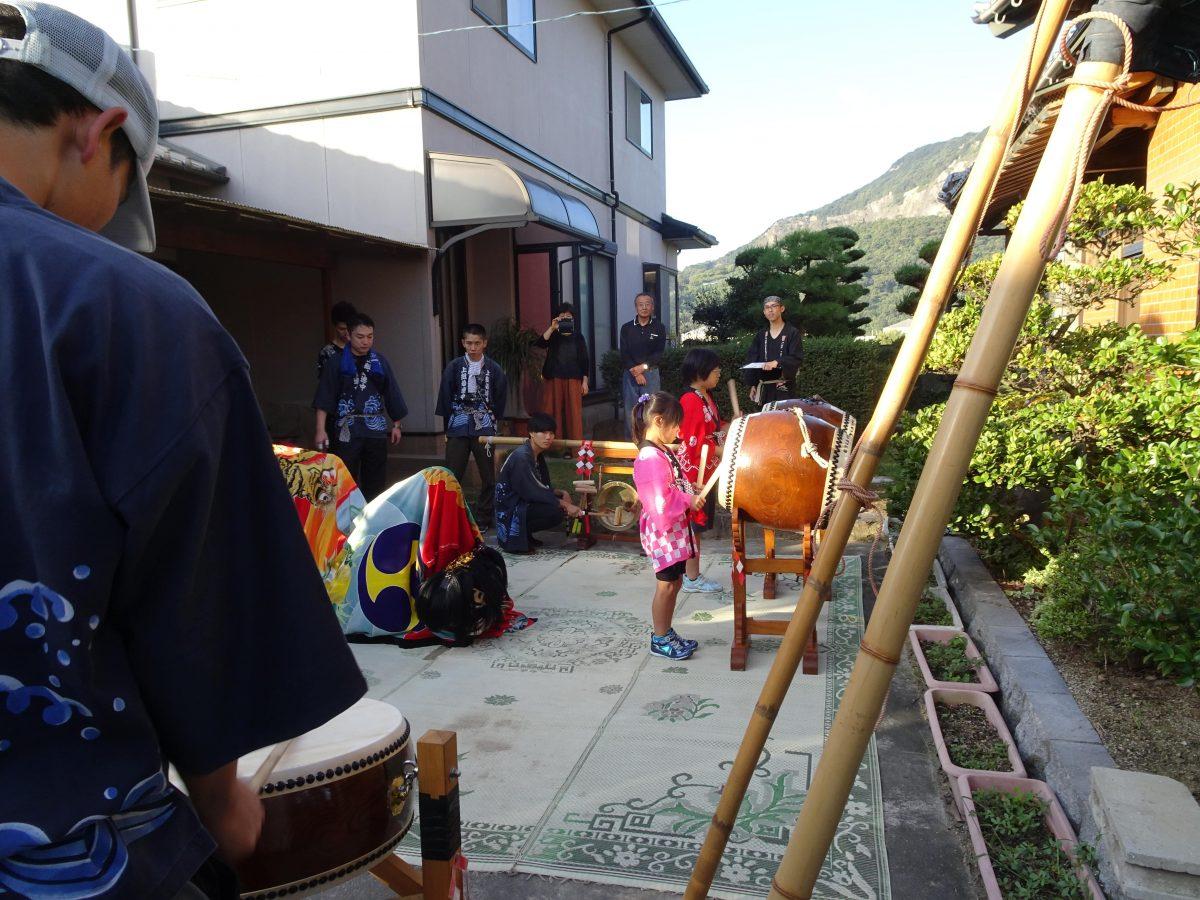 2019年 多度津町山階 秋祭り 村遣い 上小原獅子組