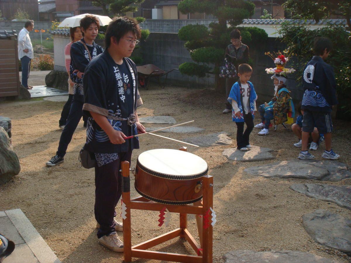 2008年 多度津町山階 秋祭り 村遣い 上小原獅子組