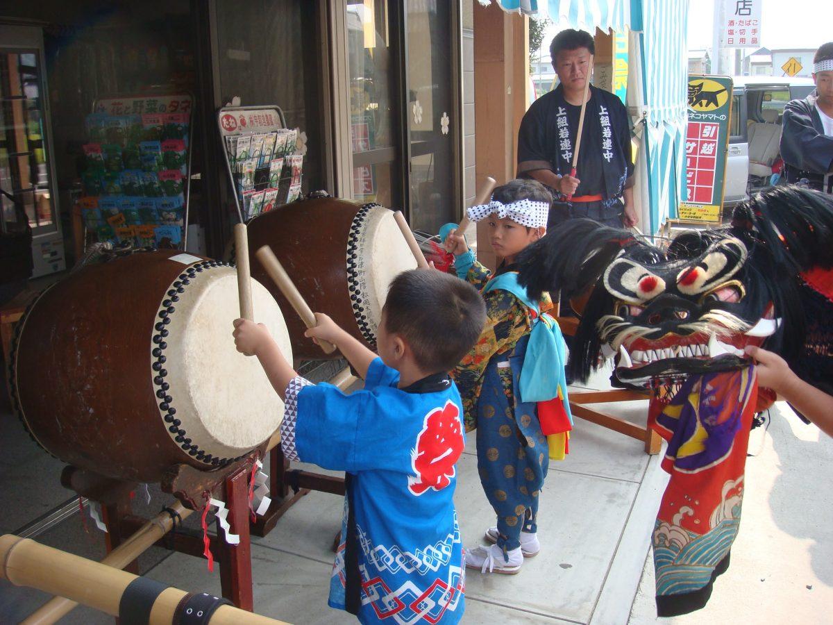 2008年 上小原獅子組 秋祭り 亀山酒店