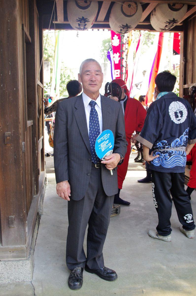 2016年 多度津町山階・春日神社 秋季例大祭 記念 上小原獅子組