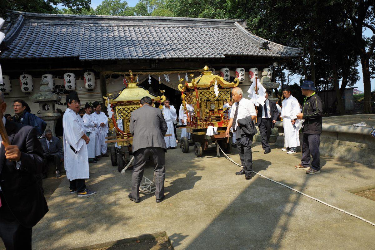 2016年 多度津町山階・春日神社 秋季例大祭 神幸