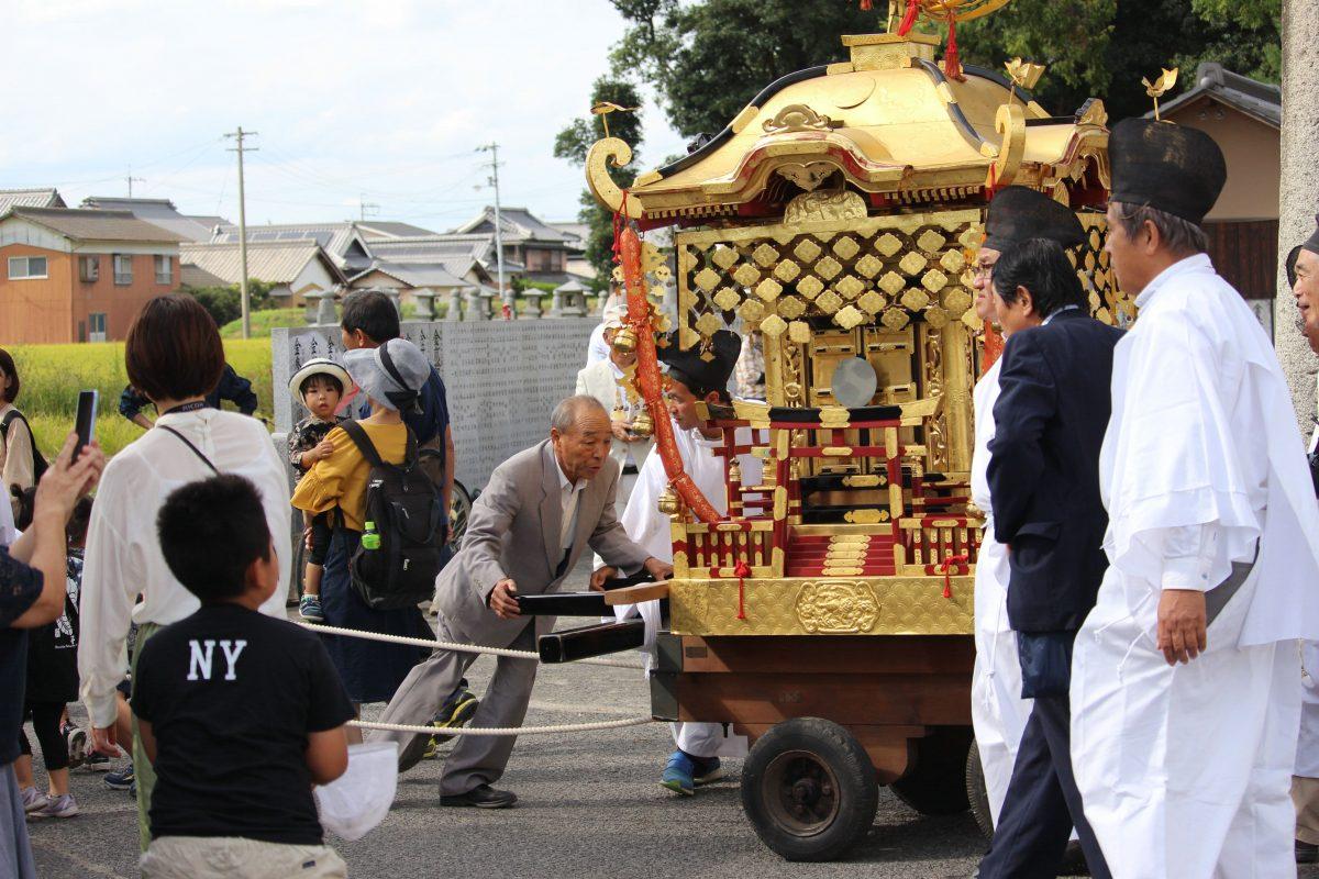 2019年 多度津町山階・春日神社 秋季例大祭 神幸