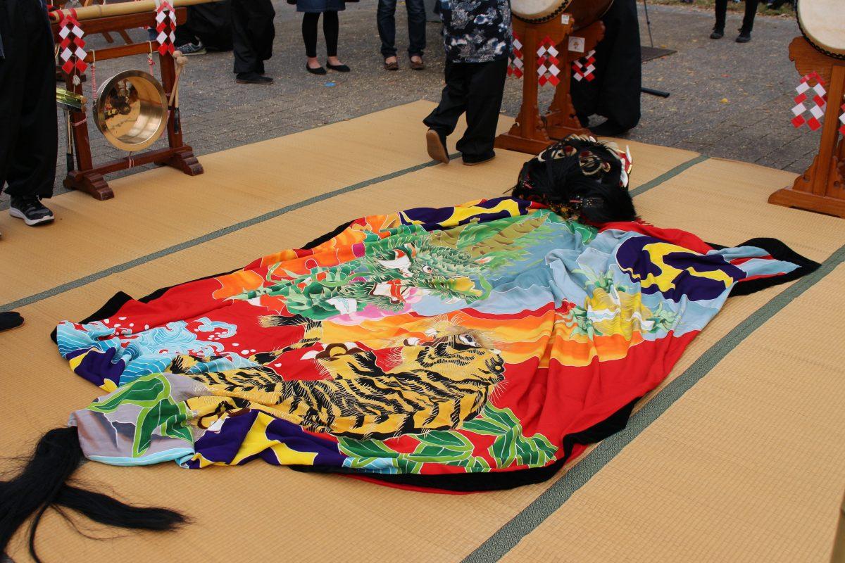 獅子舞王国さぬき2019 記念 上小原獅子組