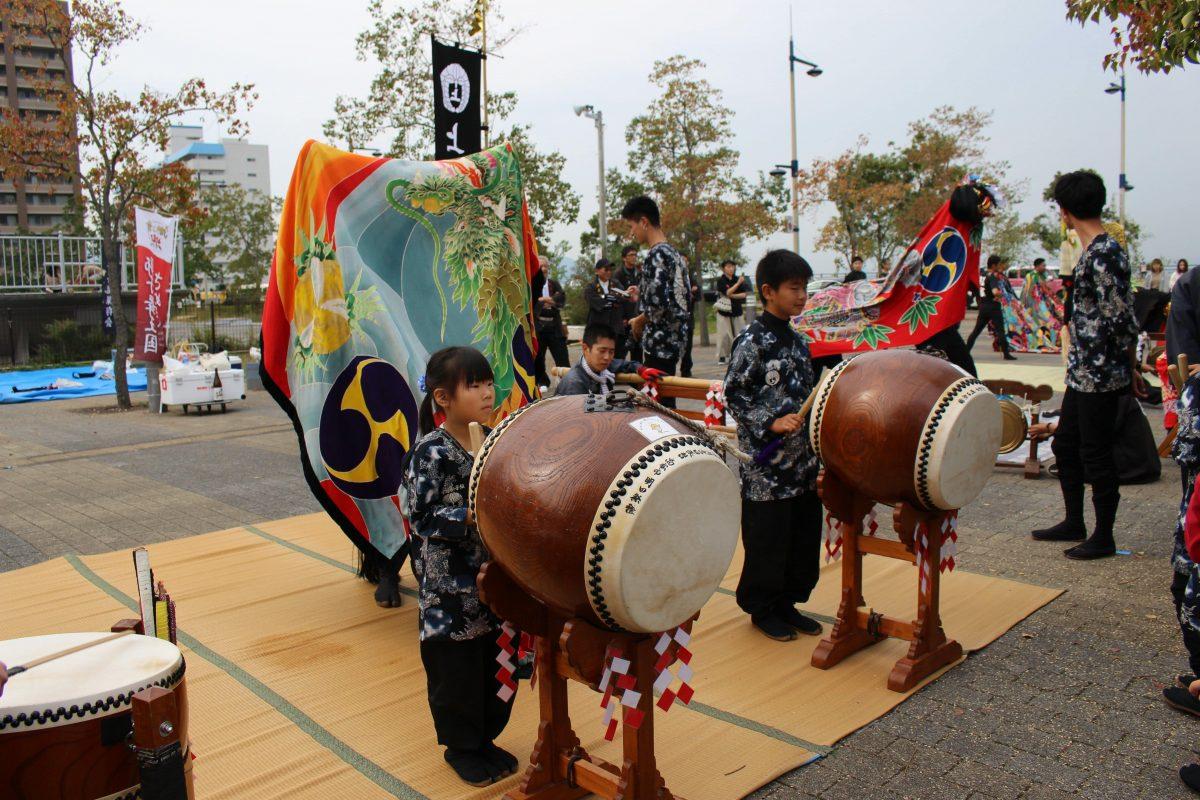 獅子舞王国さぬき2019 一斉演舞 上小原獅子組