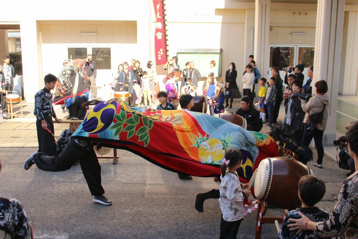 2019年 第35回四箇地区文化祭 上小原獅子組