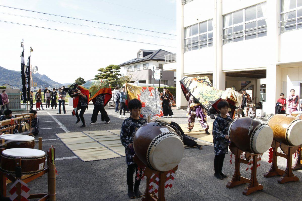 2019年 第35回四箇地区文化祭 山階一斉演舞 山階獅子組